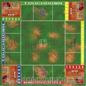 29 mm Plastic Gaming Mat Crossroad 4 Players / Death Bowl - Comixininos