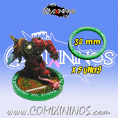 Set of 5 Prehensive Tail Skill Rings for 32 mm Bases - Comixininos
