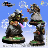 Evil Dwarves - Raknash Hobgoblin Assassin Star Player - Meiko Miniatures