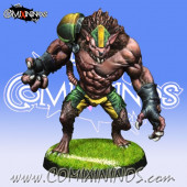 Ratmen - Rat Ogre of Ratmen Team - Willy Miniatures