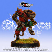 PAINTED Ratmen Lineman nº 2 - Meiko Miniatures