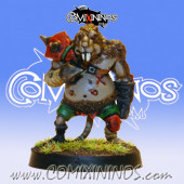 PAINTED Ratmen Lineman nº 4 - Meiko Miniatures