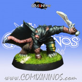 Ratmen - Assassin Star Player  - Willy Miniatures