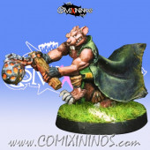 Ratmen - Ball and Chain Star Player  - Willy Miniatures