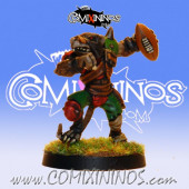 PAINTED Ratmen Thrower nº 2 - Meiko Miniatures