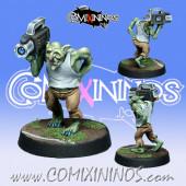 Goblins / Orcs - Razca Camera Goblin - NAW Miniatures