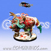 Big Guy - Minotaur Reindeer of Santa Chaos Team - Labmasu