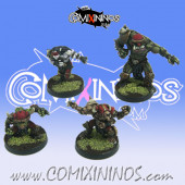 Evil Pact - Set of 4 Renegades Awesome Three Skull Devils - Goblin Guild