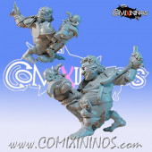 Halflings - Roblin Food Halfling Chicken Devourers Star Player  - SP Miniaturas