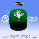 Rooted Skill Dice Green - Akaro