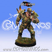 Rotten - Resin Rotten Warrior nº 3 Lords of Corruption - Willy Miniatures