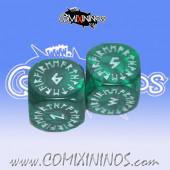 Runic Dice - Green