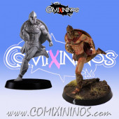 Humans / Bretonnian / Norses - Spartan Catcher nº 3 - Meiko Miniatures
