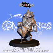 Dwarves - Resin Dwarf Runner nº 1 / 11 - Fanath Art