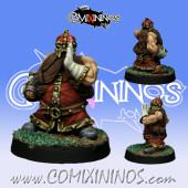 Dwarves - Dwarf Runner nº 1 - SP Miniaturas