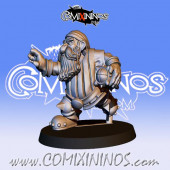 Dwarves - Resin Dwarf Runner nº 2 / 10 - Fanath Art