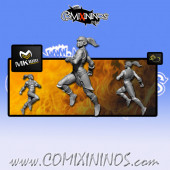 Dark Elves - Tanatos Elf Runner nº 1 - MK1881