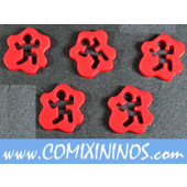 Running Tokens (Set of 5) - Litko