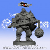 Rotten - Rusty Bellringer Tolli Star Player - Willy Miniatures