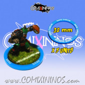 Set of 5 Safe Throw Skill Rings for 32 mm Bases - Comixininos