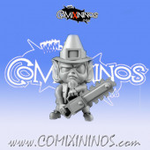 Halfling - Saint Patrick's Special Weapon A with Chainsaw  - Games Miniatures
