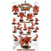Evil - Santa Chaos Team of 16 Players with Minotaur - Labmasu