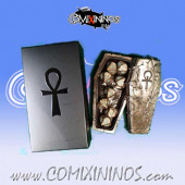 Sarcophagus Dice Box for Undead Coaches