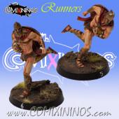 Norses - Set of 2 Spartan Runners / Catchers - Meiko Miniatures