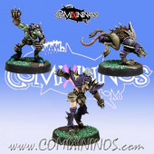 Evil Pact - Set of 3 Renegades -  Meiko Miniatures