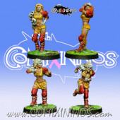 Amazons - Set of 4 Amazon Blitzers - Willy Miniatures