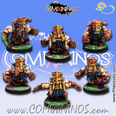 Evil Dwarves - Set of 6 Volmarian Evil Dwarf Blockers - Rolljordan