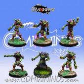 Evil Dwarves - Set of 6 Volmarian Hobgoblins - Rolljordan