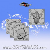 Set of 4 Underworld Tokens - Willy Miniatures