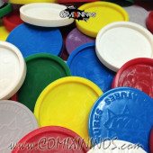 Set of 10 Skill Markers for 32  mm Bases - Willy Miniatures