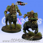 Evil Dwarves - Grim Butchers Set of 2 Bull Centaurs - Goblin Guild