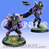 Dark Elves - Set of 2 Dark Elf Assassins - Meiko Miniatures