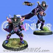 Dark Elves - Set of 2 Dark Elf Assassins - Meiko Miniatures