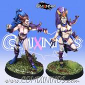 Dark Elves - Set of 2 Dark Elf Witches - Meiko Miniatures