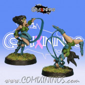 Wood Elves - Set of 2 Silvania Wardancers - Rolljordan