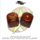 Set of 2d6 Dwarf Dice - SP Miniaturas