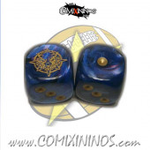 Set of 2d6 Lizardmen Dice - SP Miniaturas
