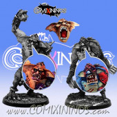 Set of 3 Troll Heads - Meiko Miniatures