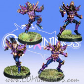 Dark Elves - Set of 4 Dark Elf Blitzers - Meiko Miniatures