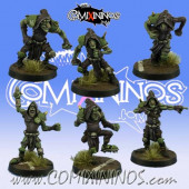 Evil Dwarves - Grim Butchers Set of 6 Hobgoblins  - Goblin Guild