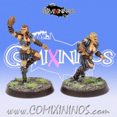 Amazons - Set of 2 Catchers Amazon Smashers - Fireforge Games