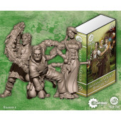 Guild Ball - Alchemist Starter Set (Midas, Calculus, Mercury) - Steamforged Games