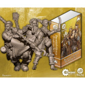 Guild Ball - Brewer Starter Set (Tapper, Hooper, Friday) - Steamforged Games
