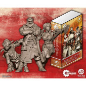 Guild Ball - Butcher Starter Set (Ox, Brisket, Boiler) - Steamforged Games