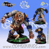 Ratmen - Rat Ogre Franarcilla Star Player Headsmasher - Meiko Miniatures