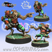 Ratmen - Ratmen Thrower nº 1 - Meiko Miniatures